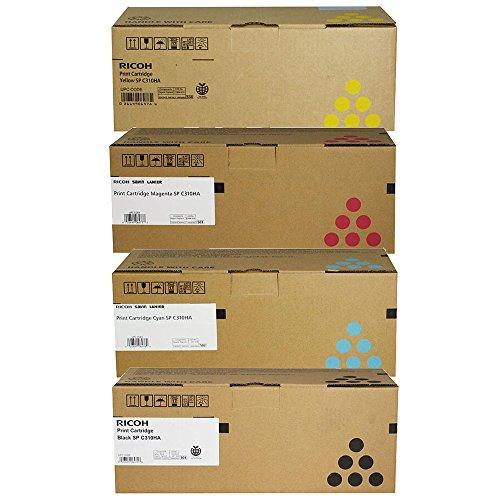 (Ricoh Aficio SP C312DN High Yield Toner Cartridge Set)
