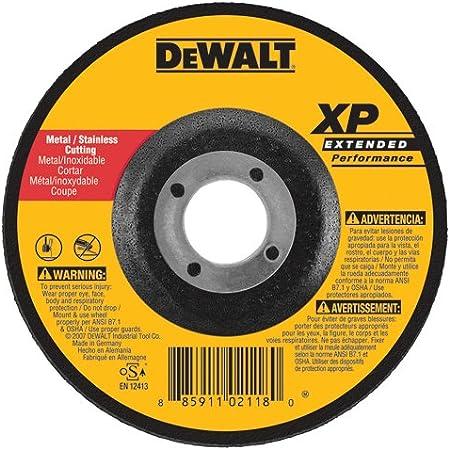 Amazon Com Dewalt Dw8859 Xp Dc Cutoff Wheel 6 Inch X 045 Inch X 7 8 Inch Home Improvement