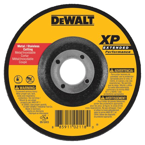 6-Inch X .045-Inch X 7//8-Inch DEWALT DW8859 XP DC Cutoff Wheel