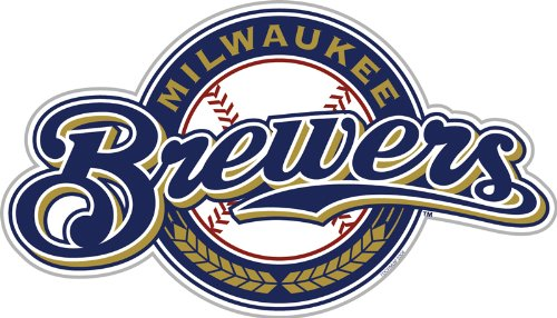 MLB Milwaukee Brewers 12-Inch Vinyl Logo Magnet (Mlb Milwaukee Car Brewers)