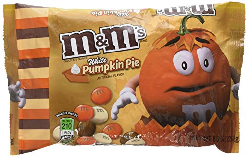 - M&Ms White Pumpkin Pie Chocolate Candy 8oz Bag