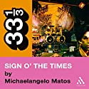 Prince's Sign o' the Times (33 1/3 Series) Audiobook by Michaelangelo Matos Narrated by Nick Sullivan