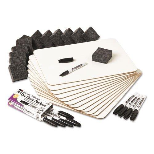 Charles Leonard Dry Erase Lapboard Class Pack QtsZJk, 4-Kit Bundle