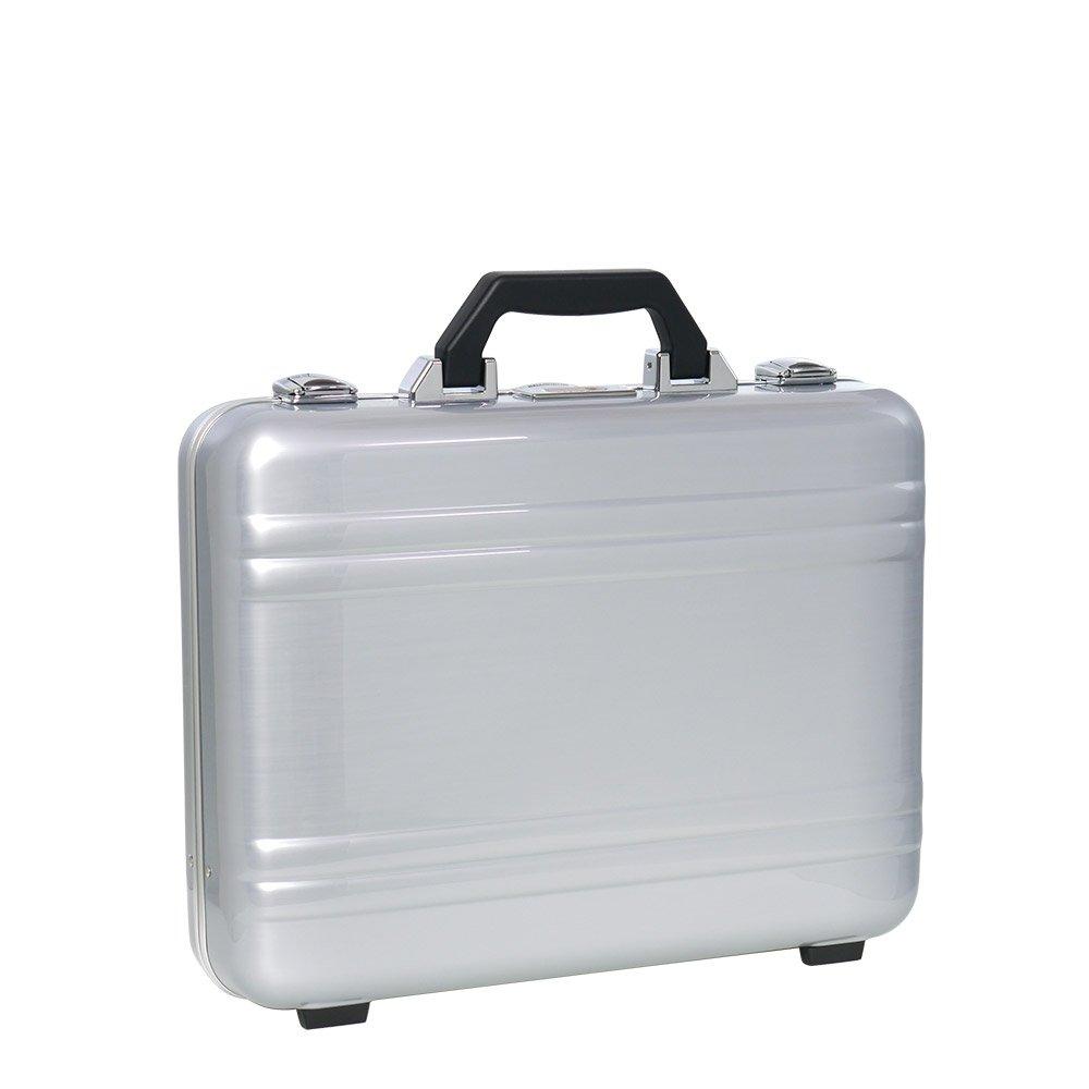 [ゼロハリバートン] ZEROHALLIBURTON CLASSIC POLYCARBONATE 2.0 ATTACHÉ Large Framed Silver[並行輸入品]   B07FSQDDT4