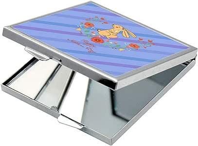 مرآة جيب، بتصميم عيد ام سعيد - ارانب ، شكل مربع