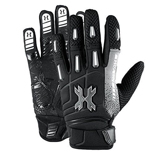 HK Army Pro Gloves - Full Finger - Stealth - Large by HK Army