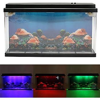 Lightahead artificial tropical fish aquarium for Fake fish tank with moving fish