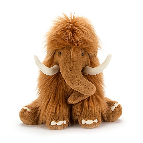 Amazon.com: Jellycat Maximus Mammoth Stuffed Animal, 19 inches: Toys & Games