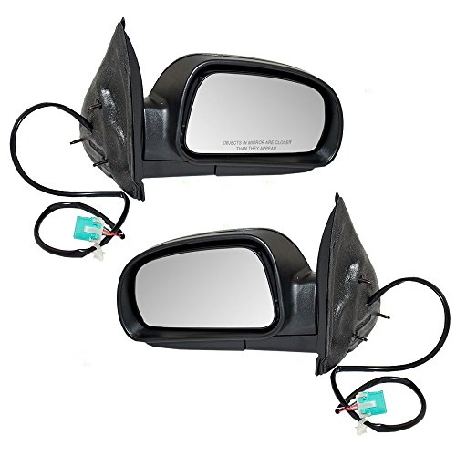 Driver and Passenger Power Side View Mirrors Heated Replacement for Chevrolet Buick GMC SUV 8158085710 ()