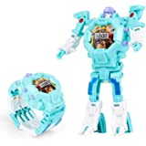 Transform Robot Watch Toys, Kids 3 in 1 Projection Deformation Bots Toys(Blue)