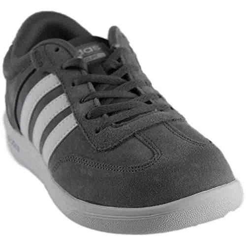 adidas Men's Cross Court Fashion Sneakers Grey/White/White D(M) US Grey/White/White