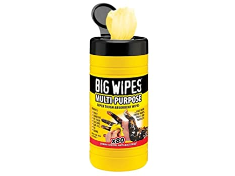 Big Wipes Industrial patrones para pijamas de hospital multi-usos y limpia aceitoso manos libres