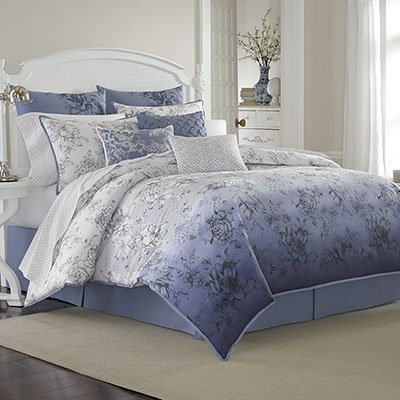 (Queen Sheet Set (Laura Ashley Delphine))