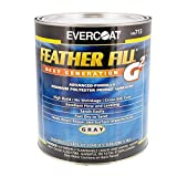 Evercoat FIB712 Fiberglass Feather Fill Gray, Qt