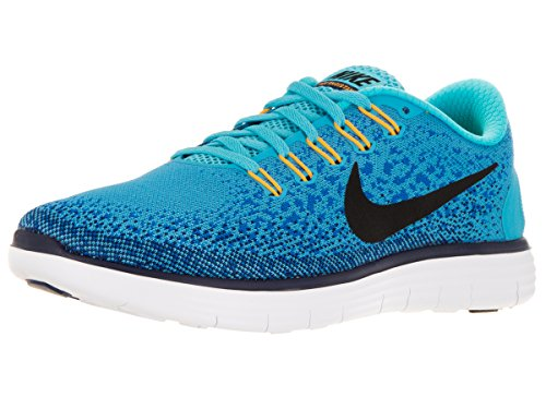uk availability 520e5 dc079 Galleon - Nike Men s Free Rn Distance Gamma Blue Black Heritage Cyan Running  Shoe 11 Men US