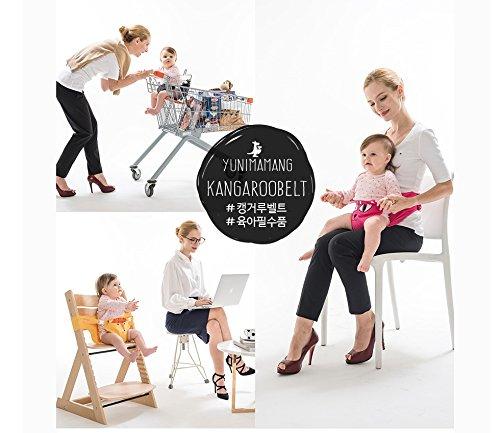 Yunimamang Kangaroobelt Baby Necessites Baby Seat Belt Toddler Safety Harness (Hot Pink Cat) by Yunimamang (Image #3)