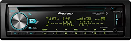 Pioneer DEH-S6100BS CD Receiver with Enhanced Audio Functions Smart Sync App Compatibility//MIXTRAX//Built-in Bluetooth//SiriusXM-Ready