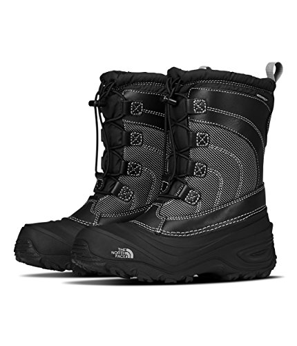 The North Face Alpenglow IV Boot, Tnf Black/Tnf Black, 7 M US Boys