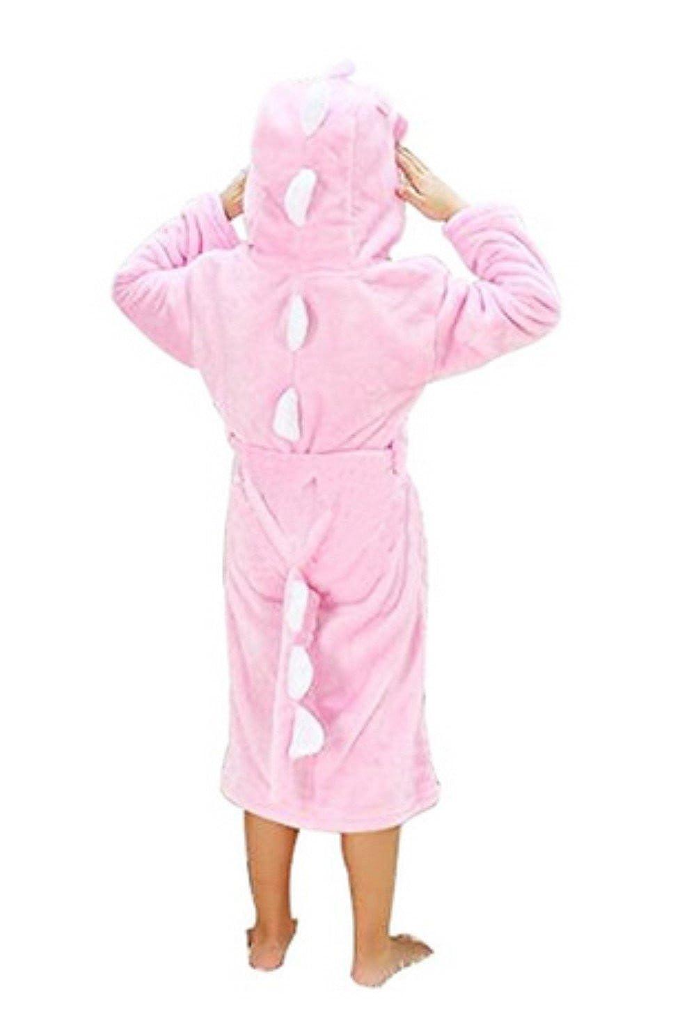 Woneart Albornoz Niña Camisones Novedad Disfraz de Peluche Animales Ropa De Dormir con Capucha Baño Costume Halloween Carnaval Pijamas Batas para bebé ...