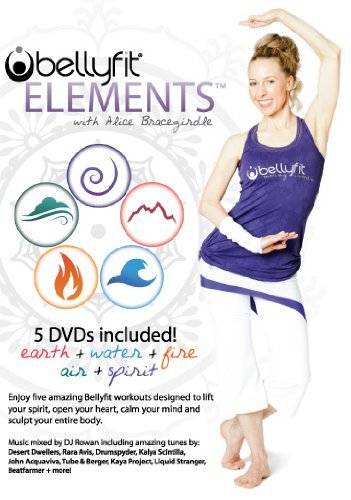 BellyFit Elements 5 DVD Set - Alice Bracegirdle by