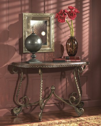 Dark Brown Sofa Table - Signature Design by Ashley Furniture