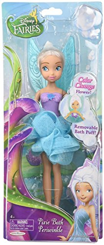 Disney Fairies Pixie Bath Periwinkle Doll, 9