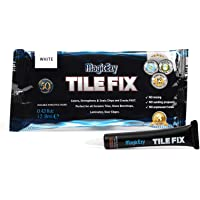 MagicEzy Tile Fix - Professionally and Easily Touch-Up Cracks Less Than 1 mm on Your Floor and Wall Tiles, Porcelain…