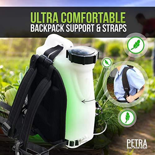 Petra Electric Fogger Atomizer Backpack Sprayer - 4 Gallon Mist
