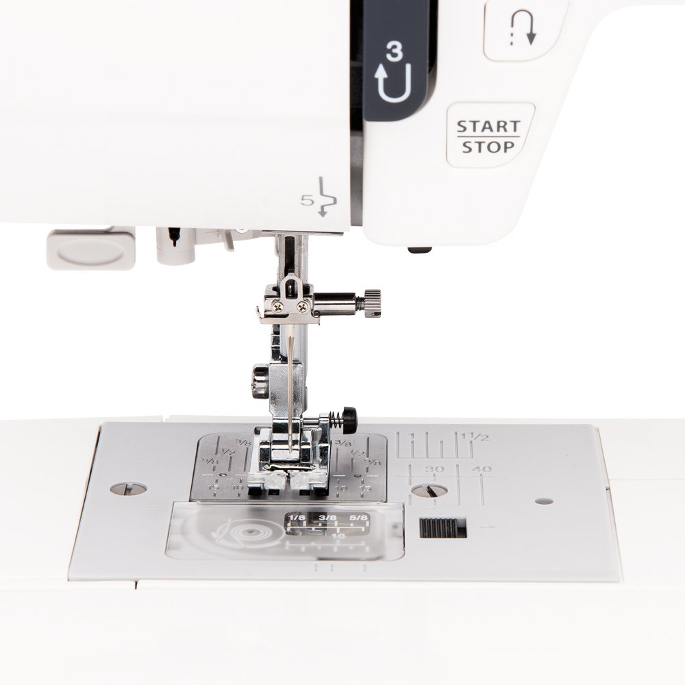 7 Buttonholes Extension Table and 22 Accessories Janome JW8100 Fully-Featured Computerized Sewing Machine with 100 Stitches Hard Cover