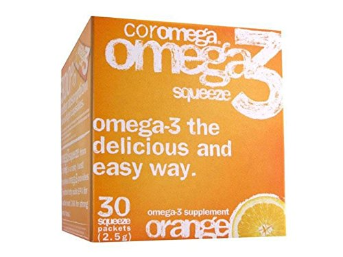 Coromega Orange Flavor - Omega-3 Orange Flavor - Coromega - 30 - Packet