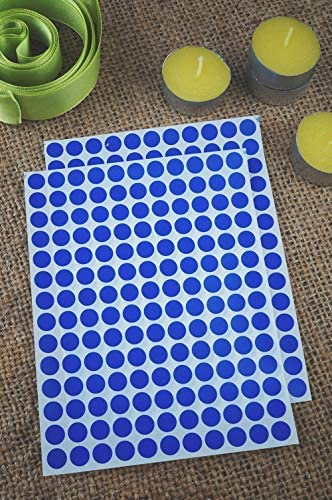 10mm Circle Stickers in Grey 1 cm Royal Green Round Colour Code Labels 2100 Pack Colors Dots Label Sticker Sheet