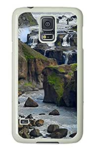 Samsung Galaxy S5 Amazing Iceland PC Custom Samsung Galaxy S5 Case Cover White