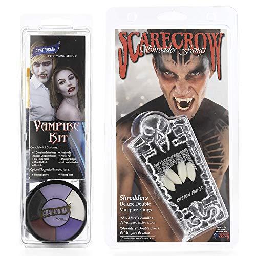 Graftobian Makeup Kit & Teeth Combo - Vampire -