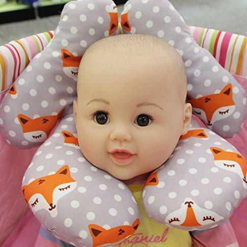 Baby Neck Support Pillow Kakiblin Infant Travel Pillow
