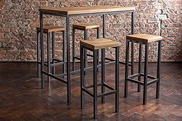 Stehtisch Bartisch Tresen Bar IndustrieDesign Loft (ein Set: 120er ...