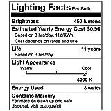 2-Pack F8T5/DL - T5 Fluorescent 5000K Day Light - 8