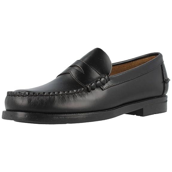 e290d1f65cdfb Sebago Grant - Mocasines de cuero para hombre  Amazon.es  Zapatos y  complementos