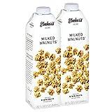 Elmhurst 2pk Milked Walnuts 32 oz. Creamy & Delicious Walnut Milk. More Nuts! More Nutrition! Gluten Free, Lactose Free, Vegan Beverage.