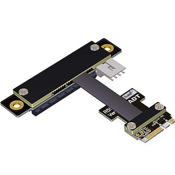 ADT-Link M2 WiFi A.E Llave A + E A PCI-e 4X x4 Riser ...
