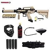 MAddog Tippmann Cronus Tactical Silver Paintball Gun Package -...
