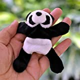 Clothful  1Pc Cute Soft Plush Panda Fridge Magnet Refrigerator Sticker Gift Souvenir Decor