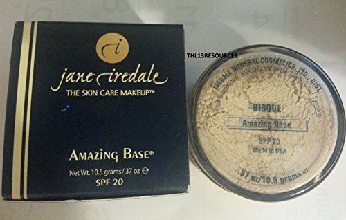 Jane Rare Collectible Classic Foundation Powder Concealer Sunscreen Amazing Base Spf 20 Bisque 10.5G / 0.37 OZ