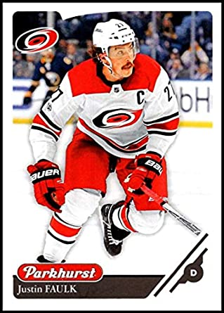 ec6719596 2018-19 Upper Deck Parkhurst  194 Justin Faulk Carolina Hurricanes Official  Licensed NHL Hockey