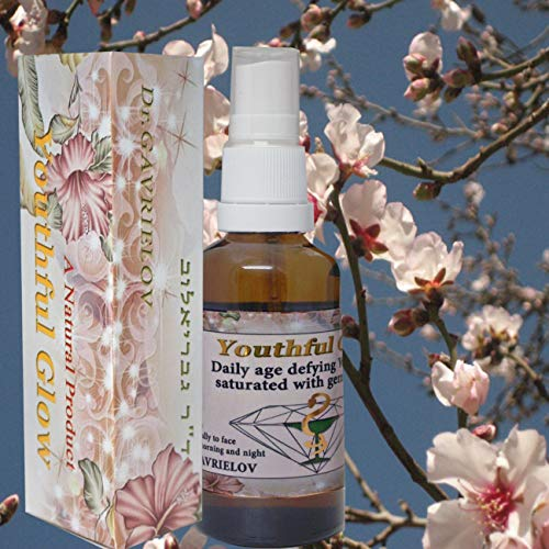 ''Youthful Glow'' Natural Oil for Staying Young, Looking & Feeling Good Almond Oil by Dr. Gavrielov