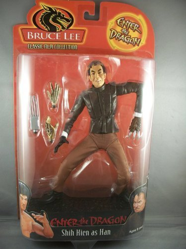 Bruce Lee - Shih Kien As Han Count on Enter The Dragon by Bruce Lee