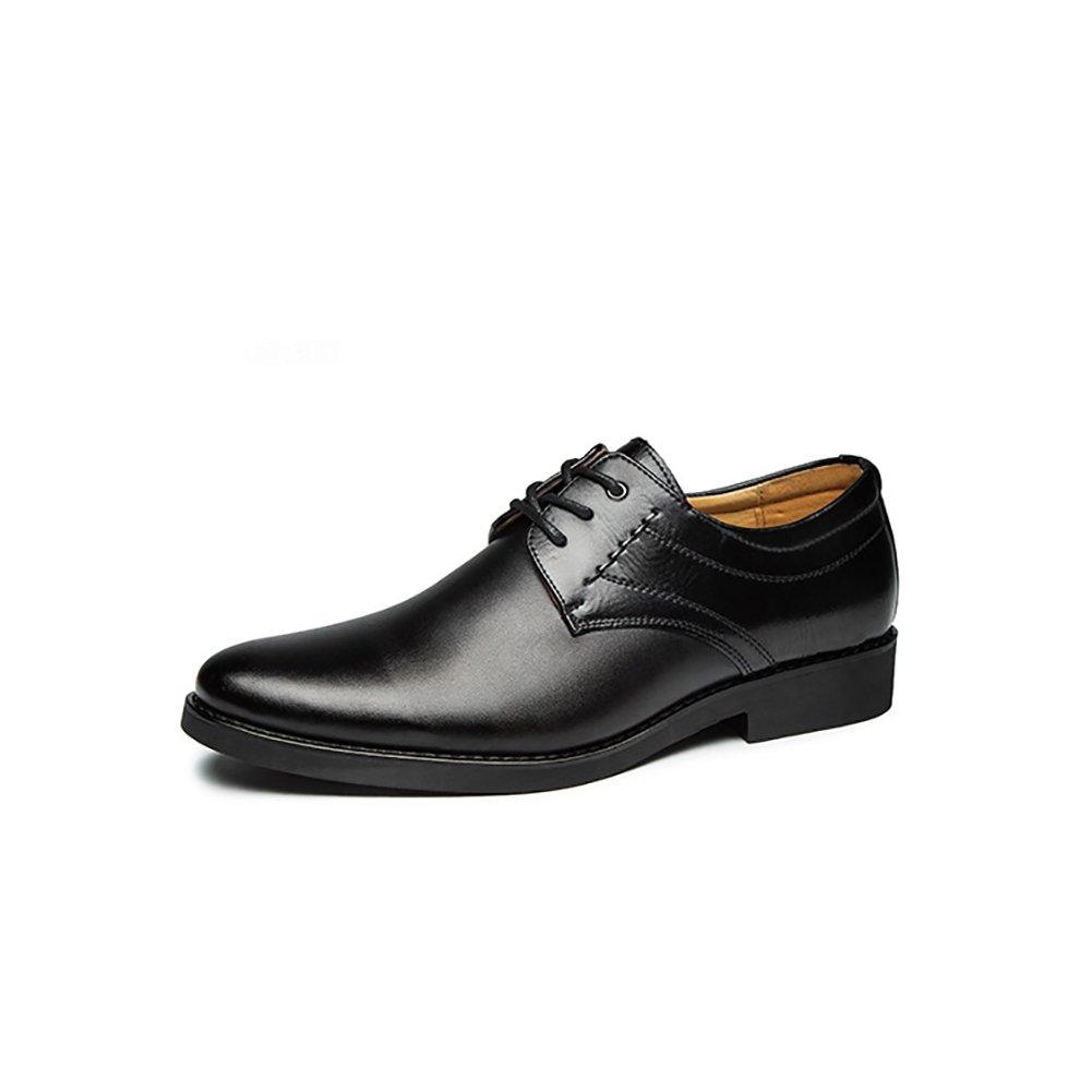 GFP Herren Lederschuhe, Arbeit Komfort Schnürschuhe, Herren Casual Wohnung Loafers Fashion Schuh, Frühling Herbst Schuhe, Hochzeitsschuh