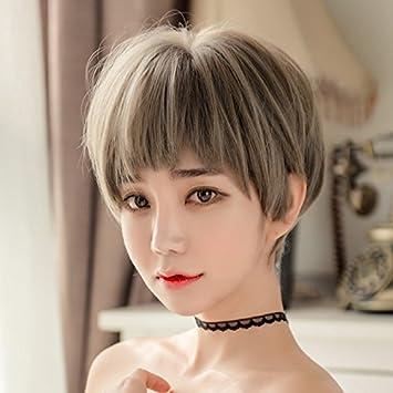 Amazon Com Within Wig Women Snood Head Handsome 2018 Short Piece