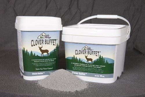 (Rough Ridge Clover Buffet Deer Food Plot Seed Mix Blend 5 Pound)