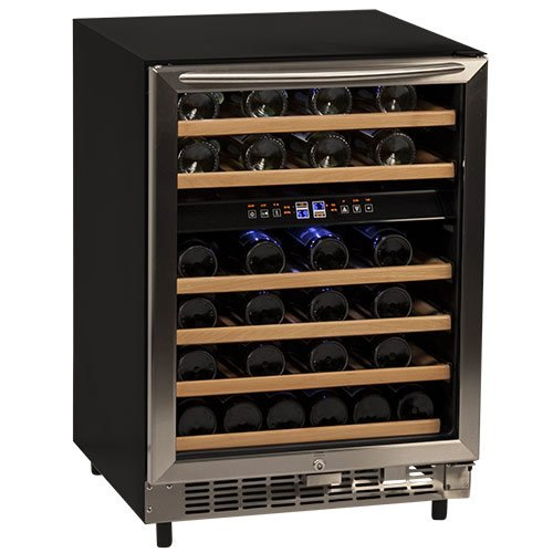 Avanti Avanti WCR5450DZ 46 Bottle Built-In Wine (Avanti Dual Zone Wine Cooler)