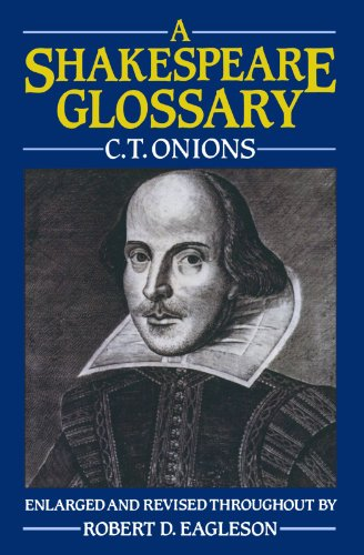 A Shakespeare Glossary by Oxford University Press
